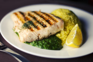 Salmon is a great natural source of Vitamin D and Omega-3.