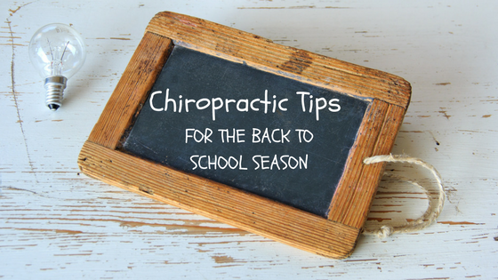 Home Chiropractic care in Denver Colorado with Dr. Lauren Love Healthy back to school year care in Denver Colorado