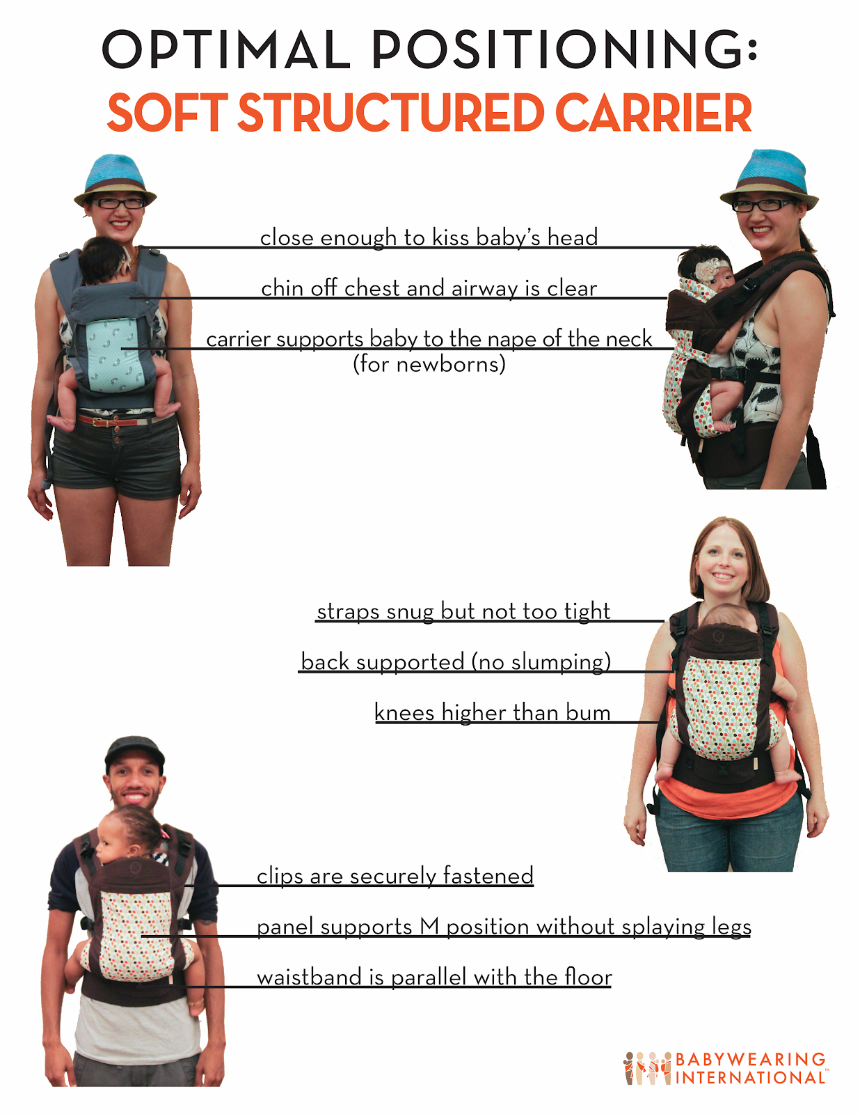 Soft Structured Carrier